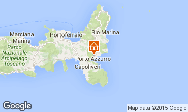 Map Porto Azzurro Apartment 66430