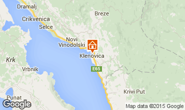 Map Klenovica Apartment 76573