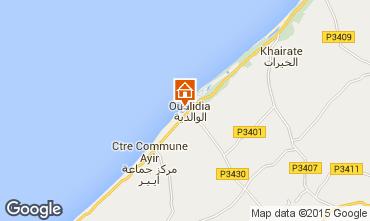 Map Oualidia Villa 9728