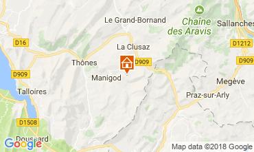 Map Manigod-Croix Fry/L'étale-Merdassier Apartment 67225