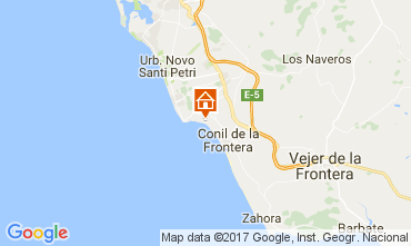 Map Conil de la Frontera Villa 94536
