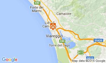 Map Viareggio Apartment 104111