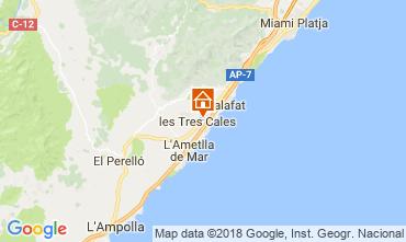 Map La Ametlla de Mar Villa 39255