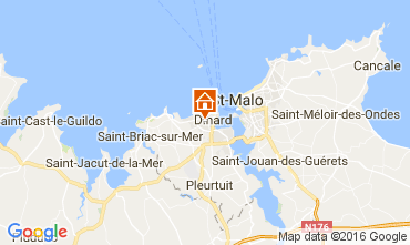 Map Dinard Apartment 107051