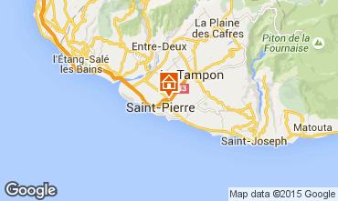 Map Saint Pierre (R�union) Apartment 76076