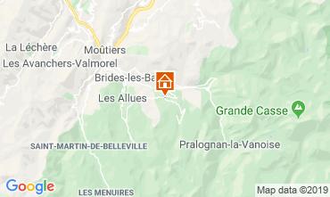 Map Courchevel Chalet 106839