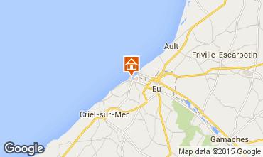 Map Le Tréport Apartment 101851