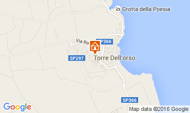 Map Torre dell'Orso One-room apartment 103853