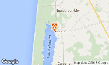 Map Hourtin Apartment 10882