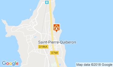 Map Saint Pierre Quiberon House 117230