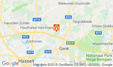 Map Hasselt Apartment 116541