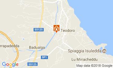 Map San Teodoro House 107576