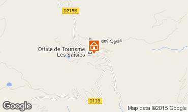 Map Les Saisies One-room apartment 70264