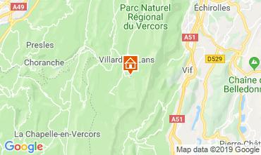 Map Villard de Lans - Corrençon en Vercors One-room apartment 68518