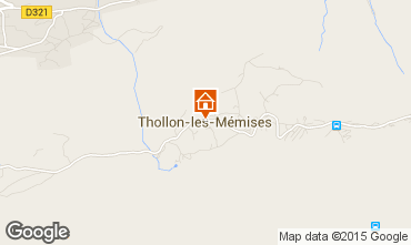 Map Thollon Les Mémises Apartment 69508