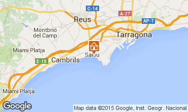 Map Salou Apartment 94659
