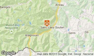 Map Saint Lary Soulan One-room apartment 4428