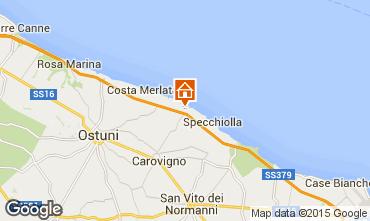 Map Ostuni Villa 95255