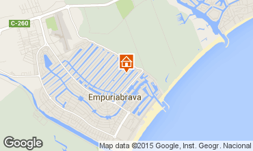 Map Empuriabrava Villa 68863