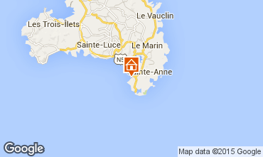 Map Sainte Anne (Martinique) Apartment 101403