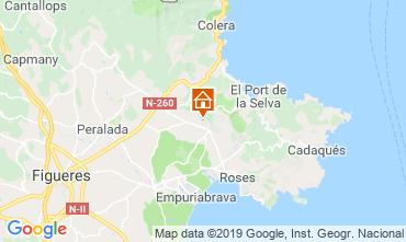 Map Rosas Apartment 113824