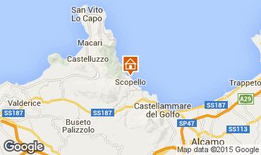 Map Scopello Villa 51889