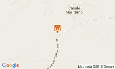 Map Casale Marittimo Apartment 104952