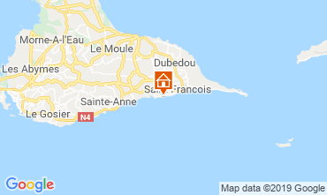 Map Saint Francois One-room apartment 67258