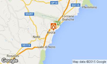Map Avola Apartment 94962