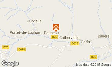 Map Luchon Superbagneres Chalet 73170