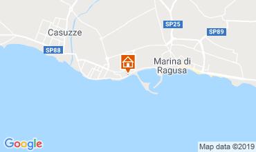 Map Marina di Ragusa Apartment 34177