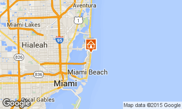Map Miami Beach One-room apartment 94128