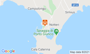 Map Villasimius House 114543