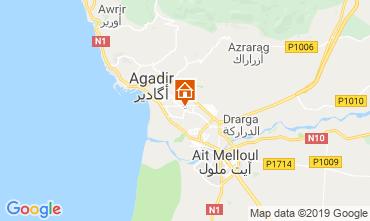 Map Agadir Apartment 62780