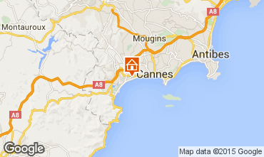 Map Cannes Apartment 30867