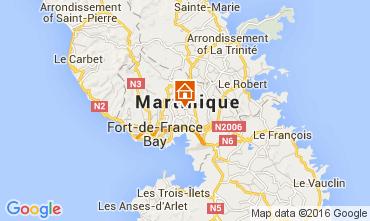 Map Sainte Anne (Martinique) One-room apartment 75916