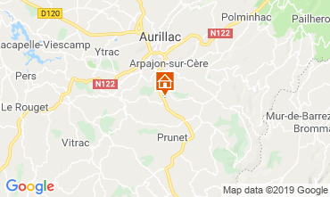 Map Aurillac Mobile home 119844
