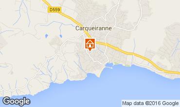 Map Carqueiranne Apartment 16177