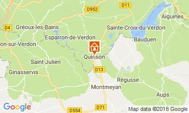 Map Sainte-Croix-du-Verdon Apartment 65232