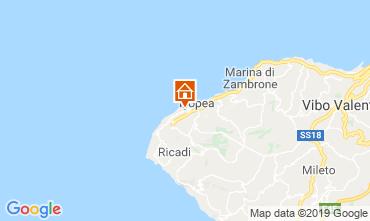 Map Tropea Apartment 71718