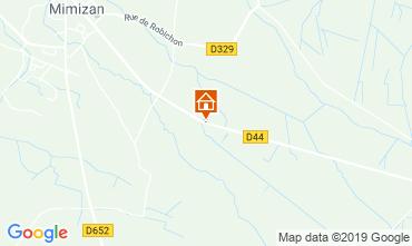 Map Mimizan Mobile home 117852