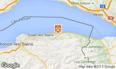 Map Evian les Bains House 98117
