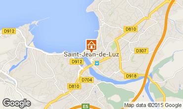 Map Saint Jean de Luz Apartment 47679
