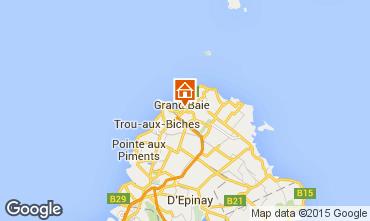 Map Grand Baie Apartment 54098