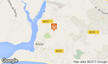 Map Alvor Apartment 62796