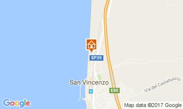 Map San Vincenzo Apartment 108185