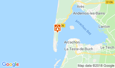 Map Lège Cap Ferret Villa 116115