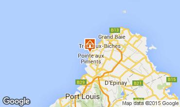 Map Trou-aux-biches Villa 45465