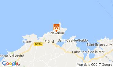 Map Frehel Vacation rental 112237