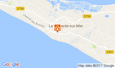 Map La Couarde-sur-Mer Apartment 108370